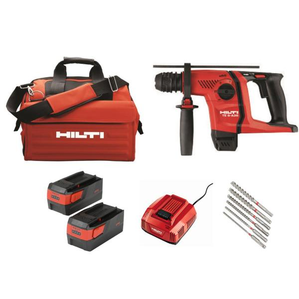 36-Volt Lithium-Ion 1/2 in. SDS Plus Cordless Rotary Hammer TE 6-A36 Industrial Trade PKG
