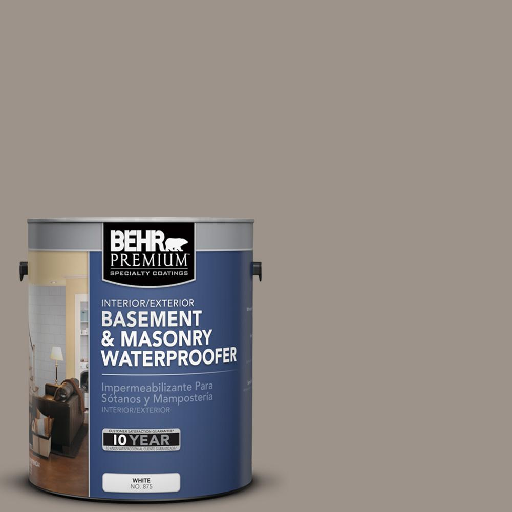 Behr Premium 1 Gal Ppf 31 Pebbled Path Basement And Masonry Waterproofer 87501 The Home Depot
