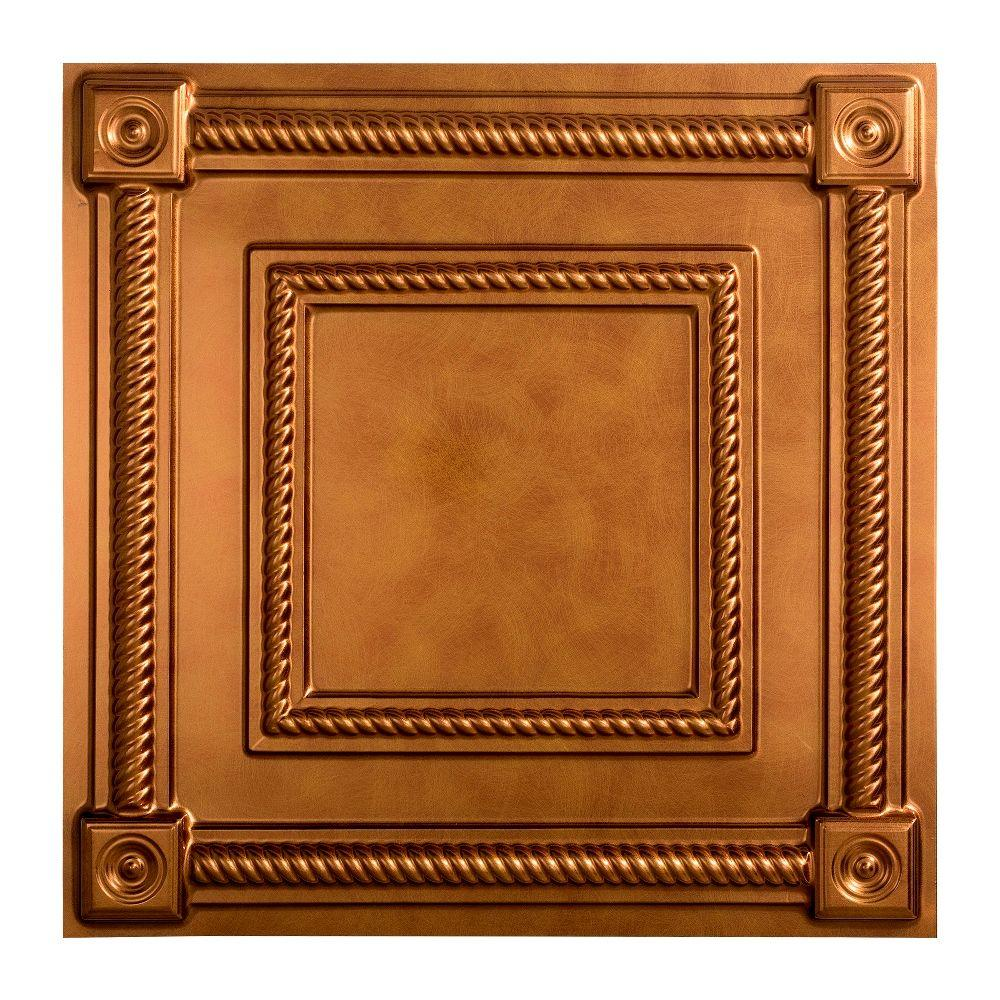 Coffer - 2 ft. x 2 ft. Lay-in Ceiling Tile in