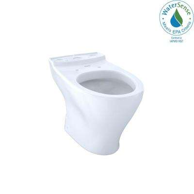 Aquia Elongated Toilet Bowl Only with 10 in. Rough-In in Cotton White