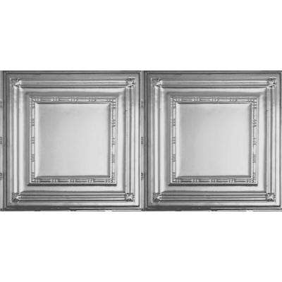 2 ft. x 4 ft. Clear Lacquer Nail-up/Direct Application Tin Ceiling Tile (24 sq. ft. / case)