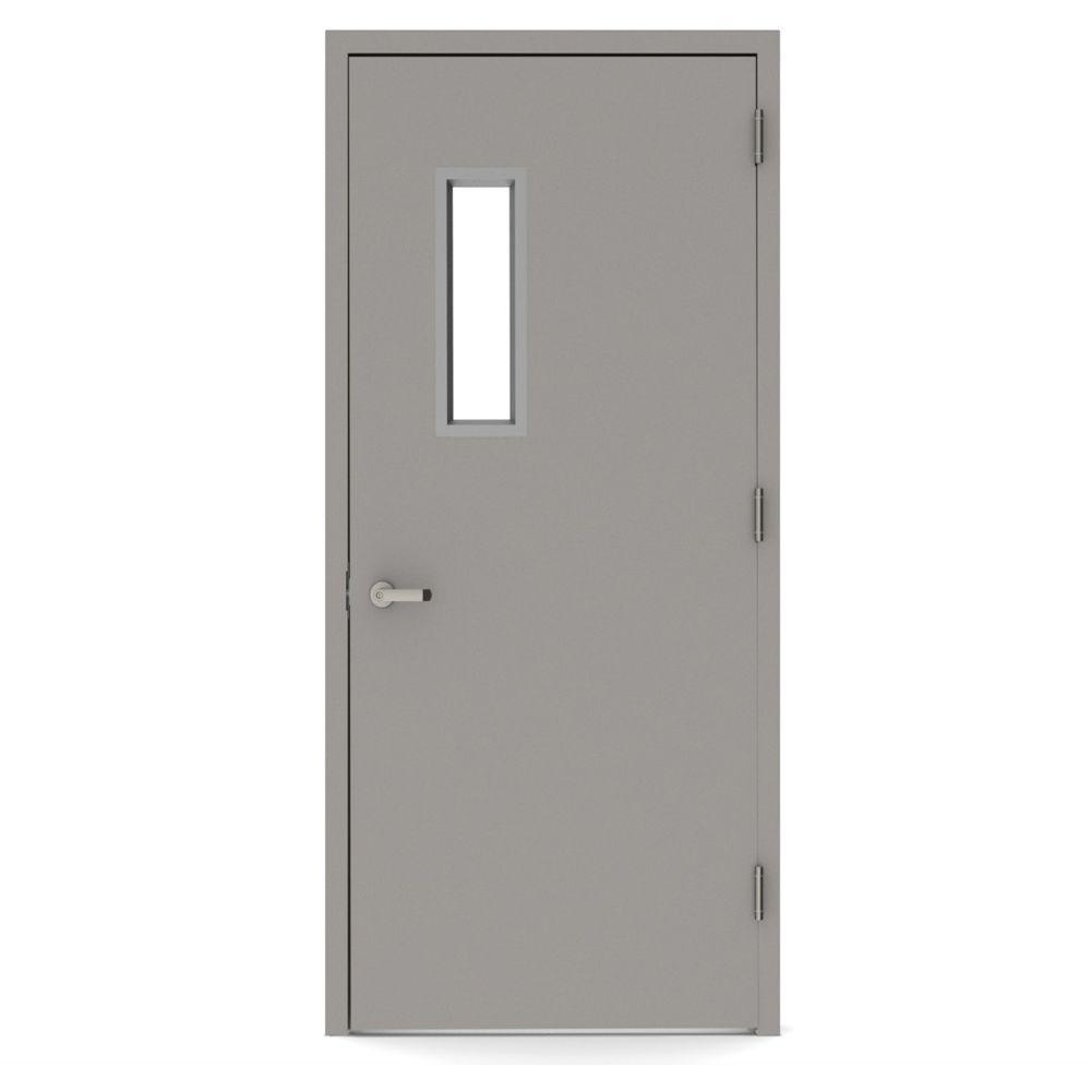 L i f industries 36 in x 80 in vision lite 520 left hand for Glass door frame