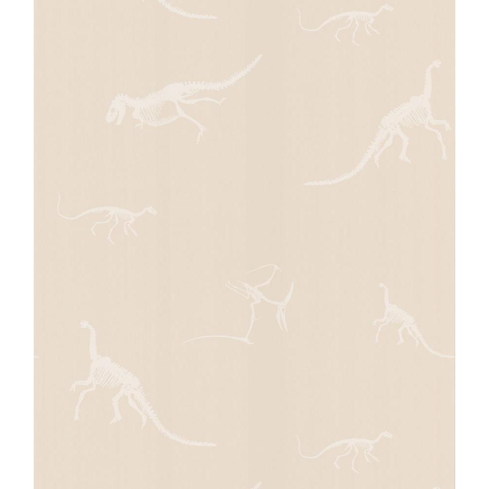 National Geographic 56 sq. ft. Skeletons Wallpaper