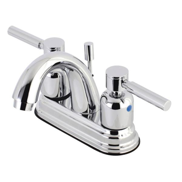 Concord 4 in. Centerset 2-Handle Bathroom Faucet in Chrome