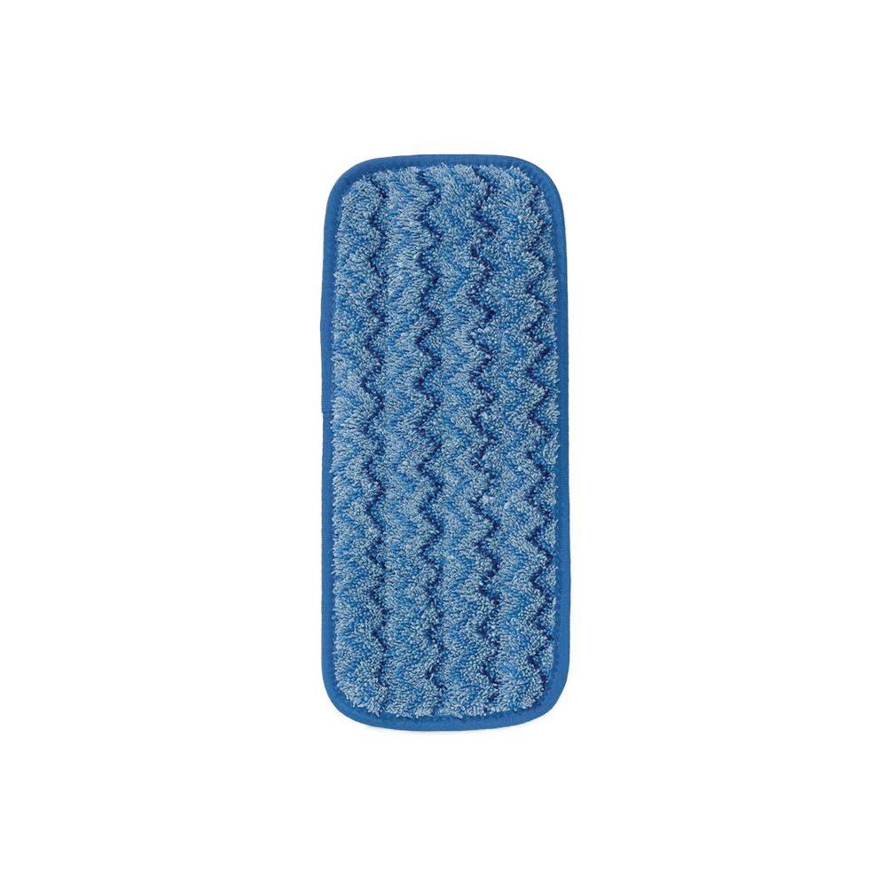 Rubbermaid Commercial Products HYGEN 11 in. Microfiber Wall/Stair Damp Mop Pad (Case of 6)