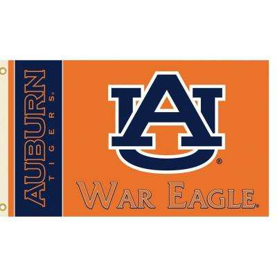 NCAA 3 ft. x 5 ft. Auburn Flag