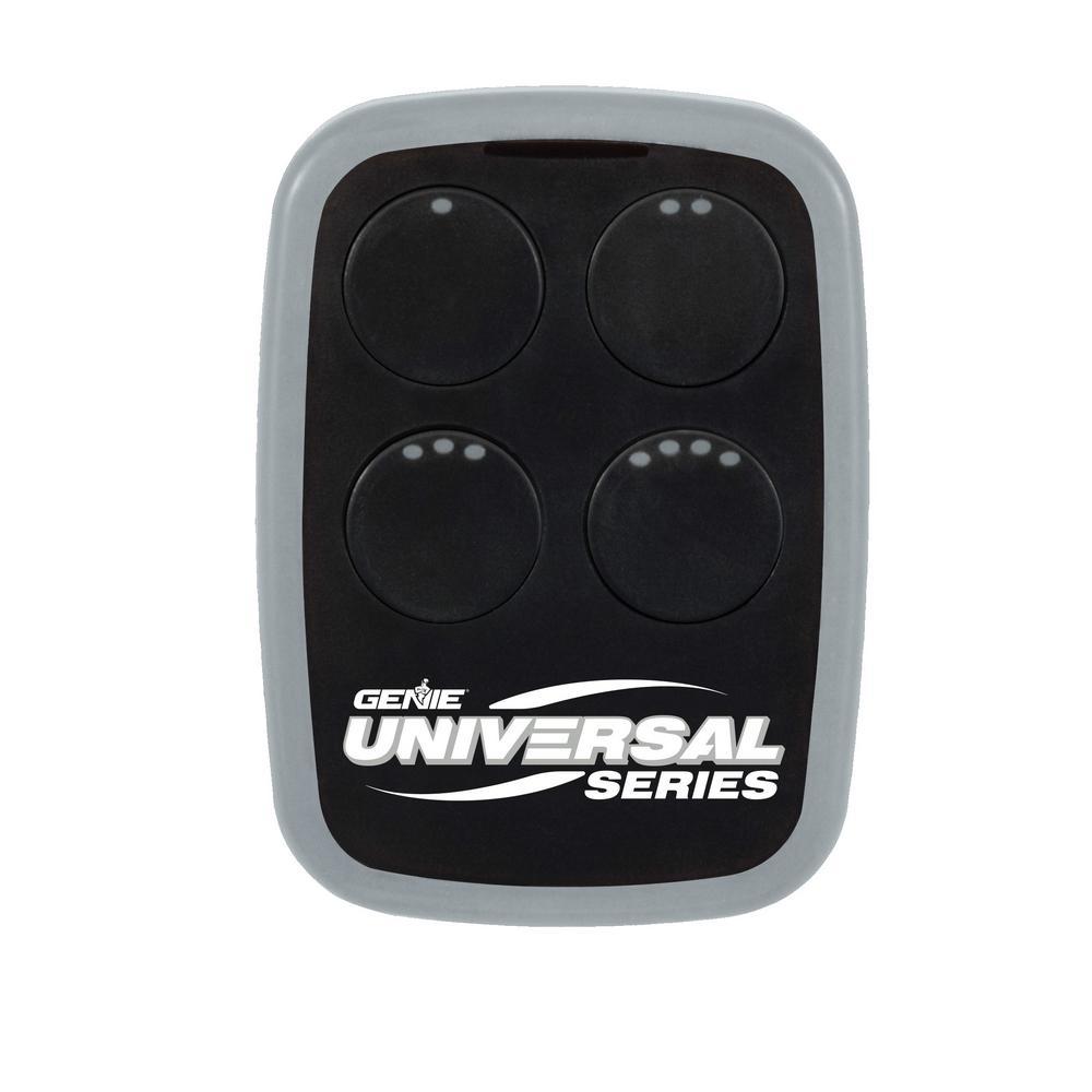 Genie Universal 4-Button Garage Door Opener Remote Universal Replacement for Nearly All Garage Door Opener Remotes