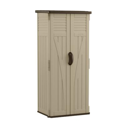 2 ft. 8.25 in. X 2 ft. 1.5 in X 6 ft. Resin Vertical Storage Shed