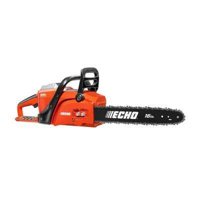 16 in. 58-Volt Brushless Lithium-Ion Cordless Chainsaw - 4.0 Ah Battery and Charger Included
