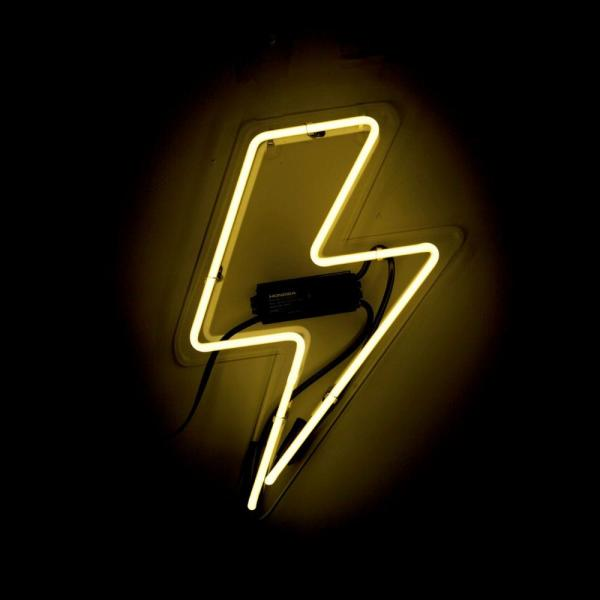 Oliver Gal 'Bolt' Plug-in Neon Lighted Sign