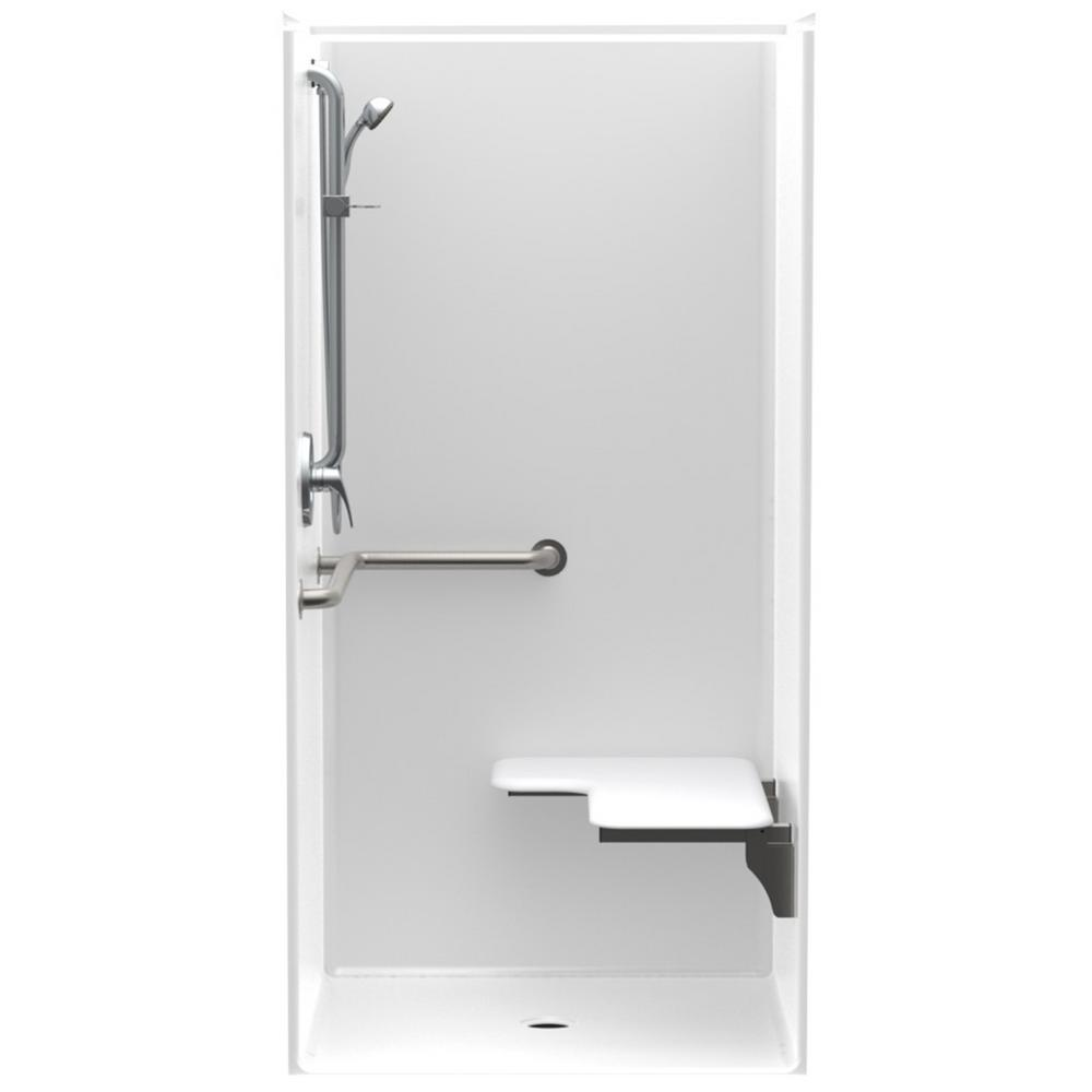 Accessible Smooth Wall AcrylX ADA Configured 36 in. x 36 in.