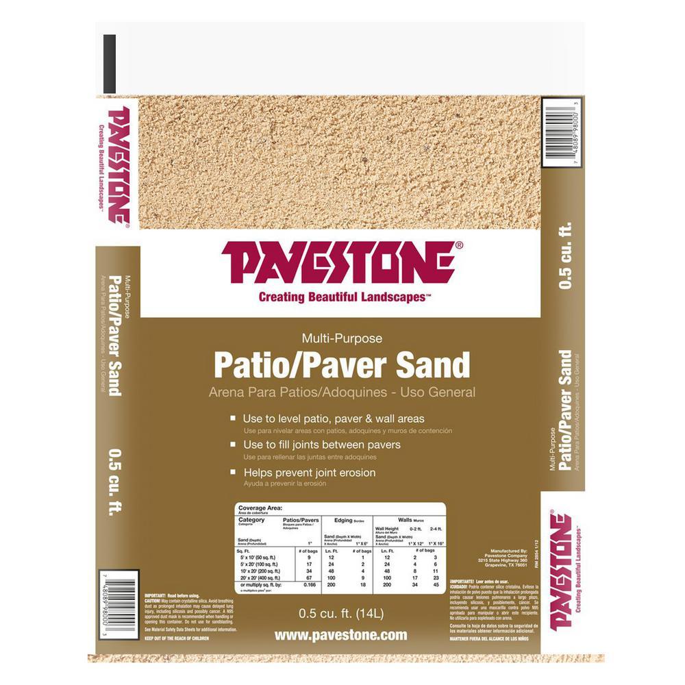 0.5 cu. ft. Paver Sand