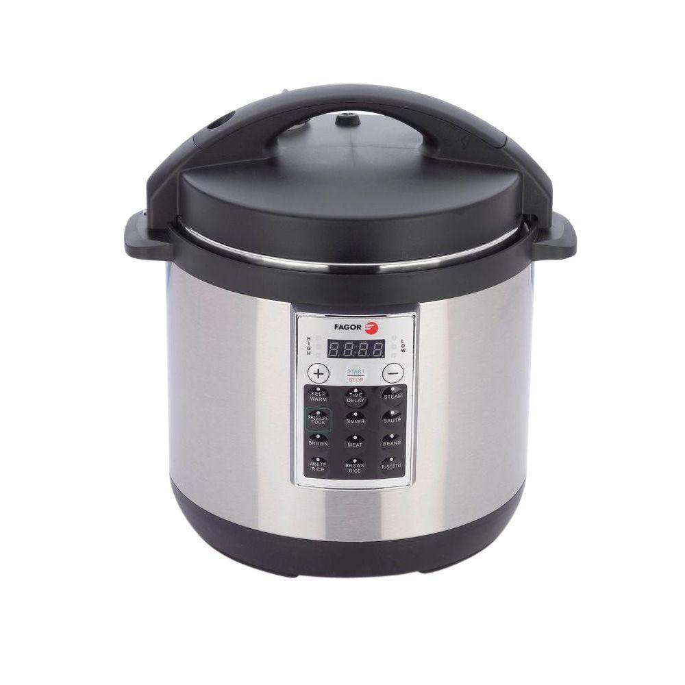 Home Electric Cooker ~ Fagor premium qt pressure cooker the home depot