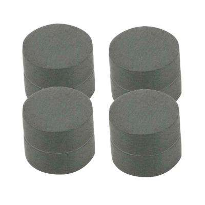 3/4 in. Dia Black Disc Magnet (8 per Pack)