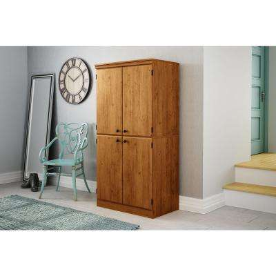 Morgan Country Pine Storage Cabinet
