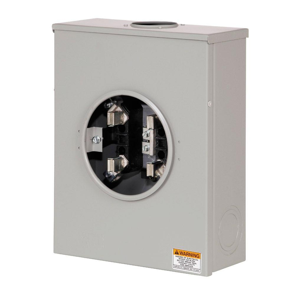125 Amp Single Meter Socket (HL and P and Reliant Approved)