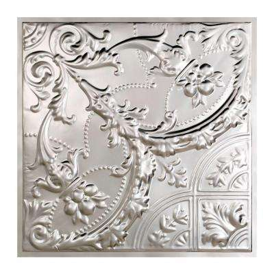 Saginaw 2 ft. x 2 ft. Lay-in Tin Ceiling Tile in Clear