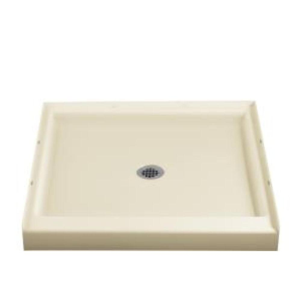 STERLING Ensemble 36 in. x 36 in. Single Threshold Shower Receptor in Almond-DISCONTINUED