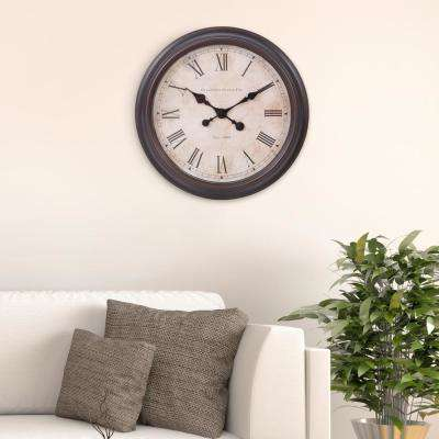 Antique Bronze Wall Clock