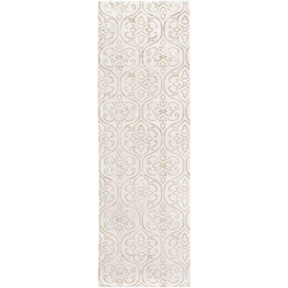 Aurora Ivory 2 ft. 6 in. x 8 ft. Indoor Rug