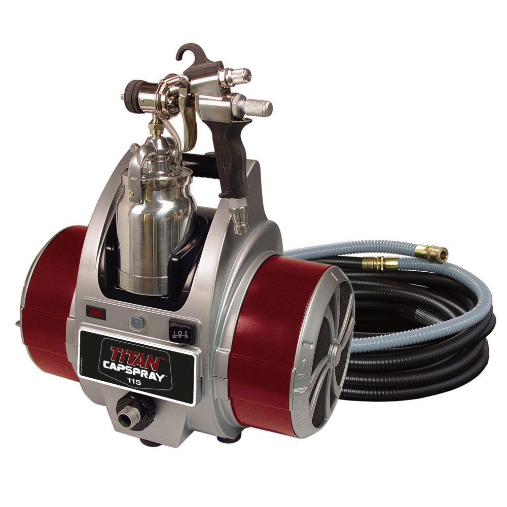 Titan Capspray 115 Fine Finish Hvlp Paint Sprayer 0524034