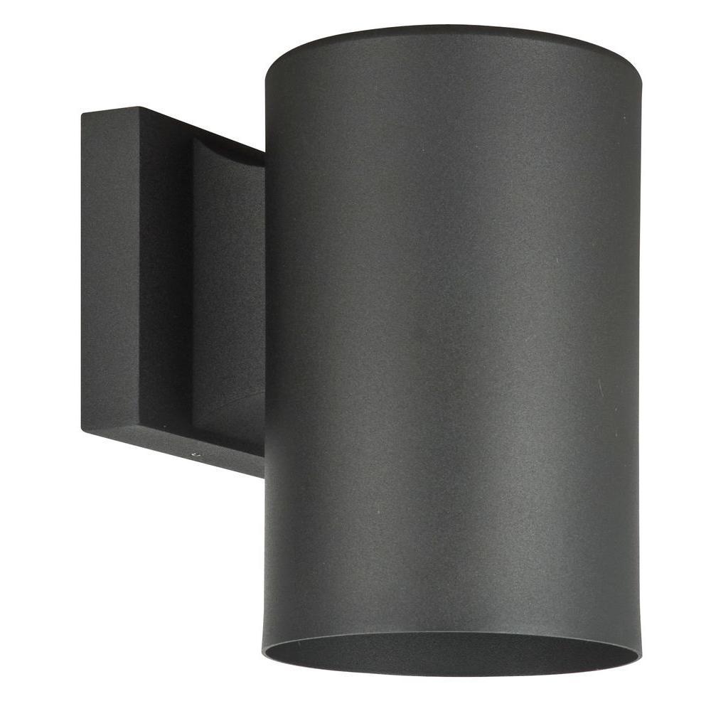 Eldridge 1-Light Black Outdoor Wall Lantern