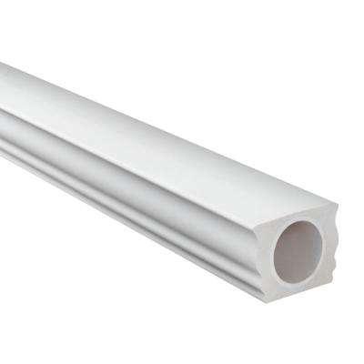 7 in. x 5-1/4 in. x 96 in. Polyurethane Straight Top Handrail for 7 in. Balustrade System