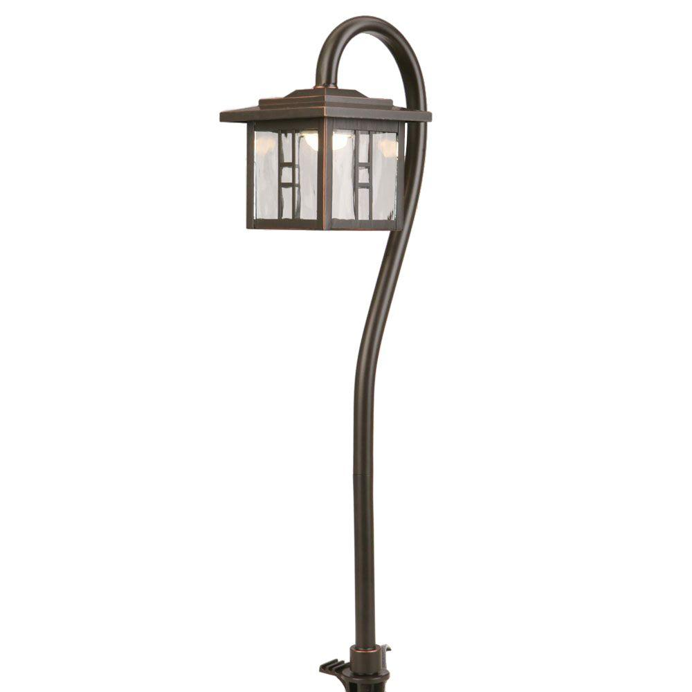 Low-Voltage 10-Watt Equivalent Oil-Rubbed Bronze Outdoor Integrated LED