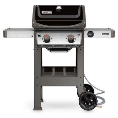 Spirit II E-210 2-Burner Natural Gas Grill in Black