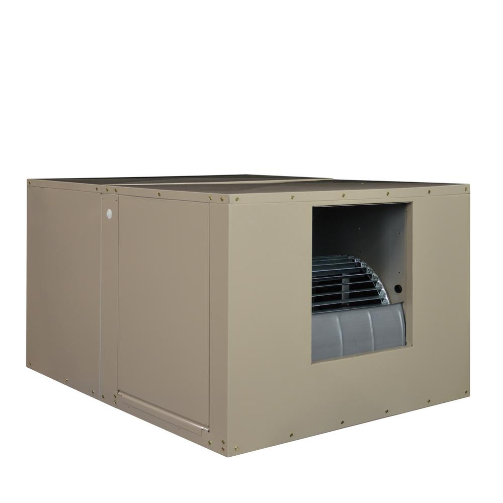 MasterCool 5000 CFM 120-Volt 2-Speed Side-Draft Wall/Roof 8 in. Media Evaporative Cooler for 1650 sq. ft. (with Motor)