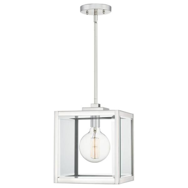 Ferguson 1-Light Polished Nickel Mini Pendant