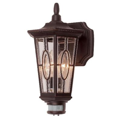 Seville Bronze Outdoor Carousel Motion Wall Lantern Sconce