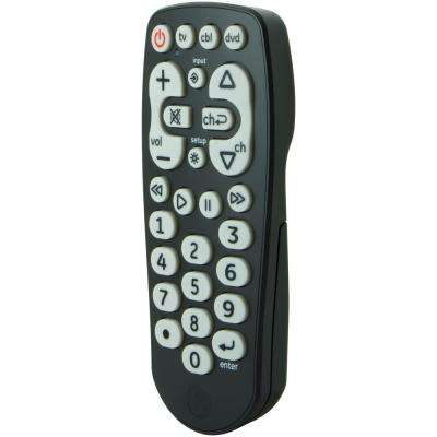 3 Device Universal Large Button Remote