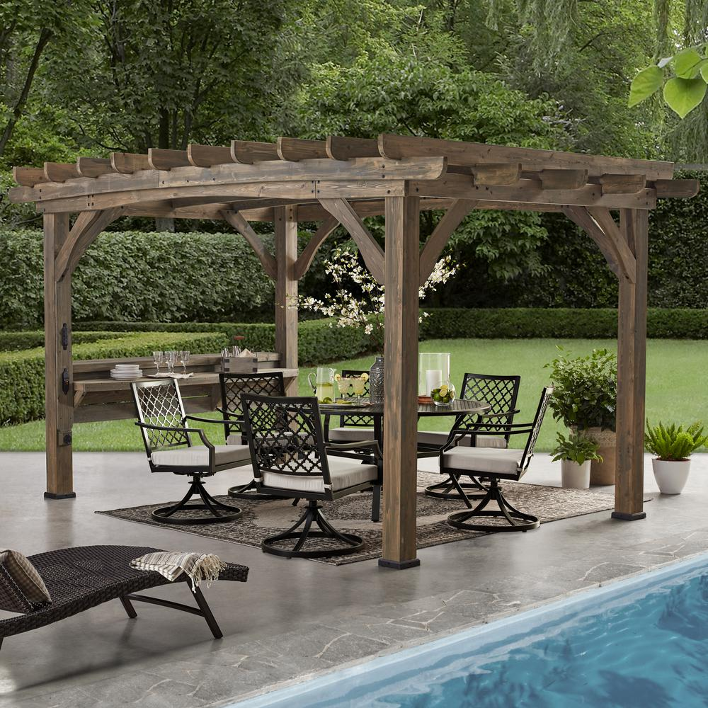 Backyard Discovery Silverton 14 Ft. X 10 Ft. All Cedar