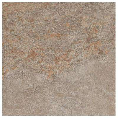 Longbrooke Weathered Slate 12 in. x 12 in. Ceramic Floor and Wall Tile (14.55 sq. ft. / case)