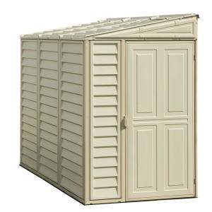 vinyl shed with foundation