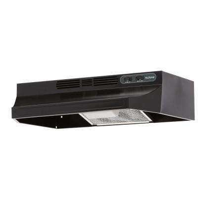 RL6200 24 in. Non-Vented Range Hood in Black