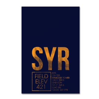 """22 in. x 32 in. """"SYR ATC"""" by 08 Left Canvas Wall Art"""