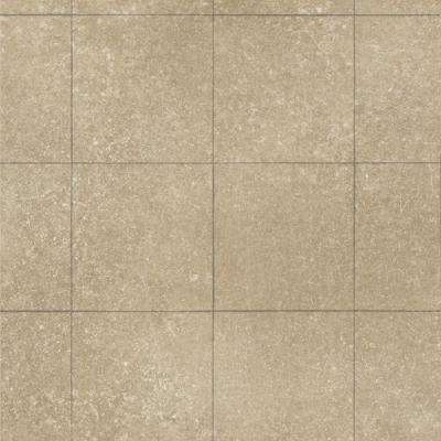 Sandshore Tile 13.2 ft. Wide x Your Choice Length Residential Sheet Vinyl Flooring