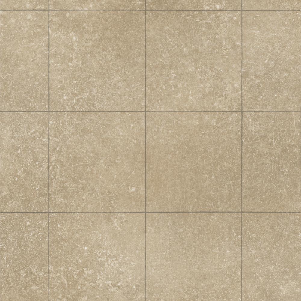 Sandshore Tile 13.2 ft. Wide x Your Choice Length Residential Sheet Vinyl Flooring