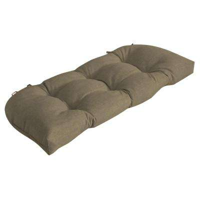 Sandstone Leala Texture Outdoor Bench Cushion