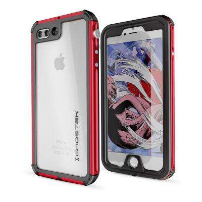 iPhone 7 Atomic 3 Waterproof Case - Red