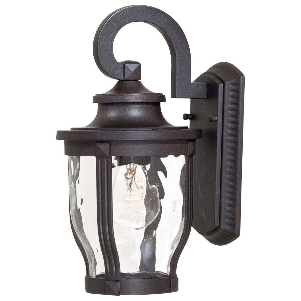 the great outdoors by Minka Lavery Merrimack 1-Light Corona Bronze Outdoor Wall Lantern Sconce