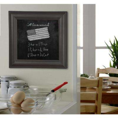 77 in. x 29 in. Brazilian Walnut Blackboard/Chalkboard