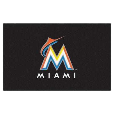 Miami Marlins 5 ft. x 8 ft. Ulti-Mat
