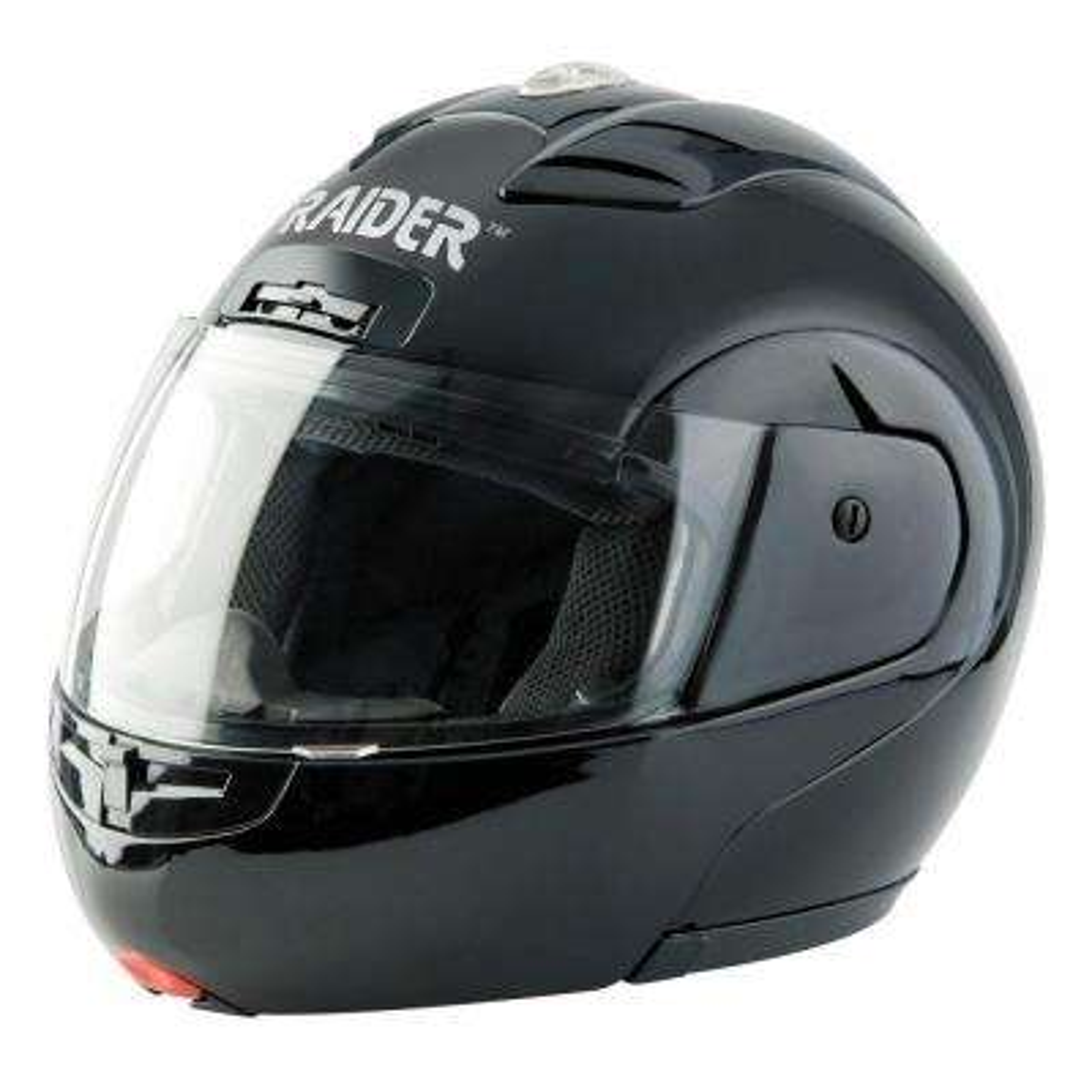 X-Large Black Modular Street Helmet