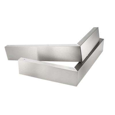Stainless Steel Microwave Hood Filler Panel Kit