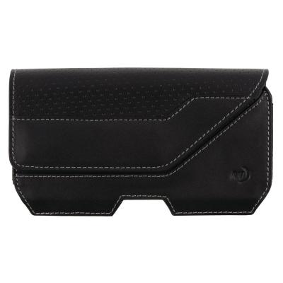 2X-Large Clip Case Executive Universal Rugged Holster, Black