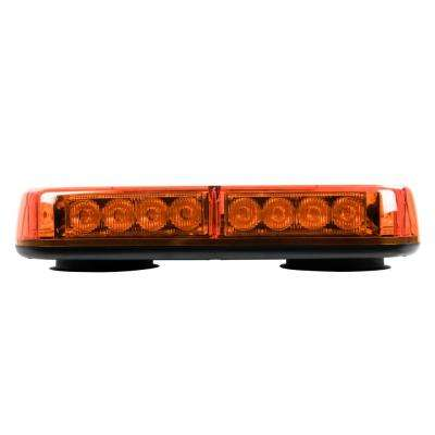 LED Amber Low-Profile Light Bar with Magnetic Mount (2-Pack)