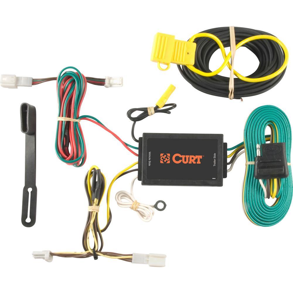Custom Wiring Harness >> Curt Custom Wiring Harness 4 Way Flat Output